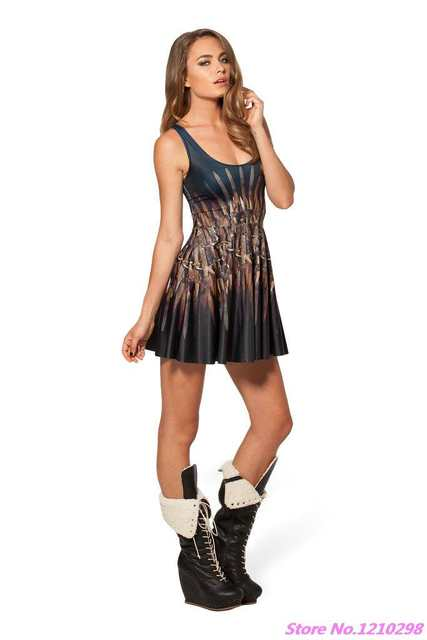 1377d626a893a Hell Fire Dresses Sleeveless Pleated Sports A line Tennis Dress ...