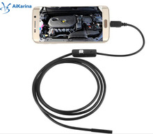 HD 720P 6LEDs 5MM Android Endoscope usb Endoscope Borescope Snake Inspection Pipe Tube Video MINI Camera IP67 Waterproof With 2M