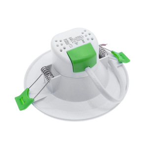 Image 5 - Freeshipping LED 다운 라이트 6W 12W 18W 라운드 recessed 램프 85 260V LED 전구 침실 주방 실내 LED 자리 조명