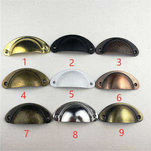 Image 5 - variety style color Stainless steel Door Drawer Cabinet Wardrobe Pull Handle Knobs furniture Hardware handle Wholesale