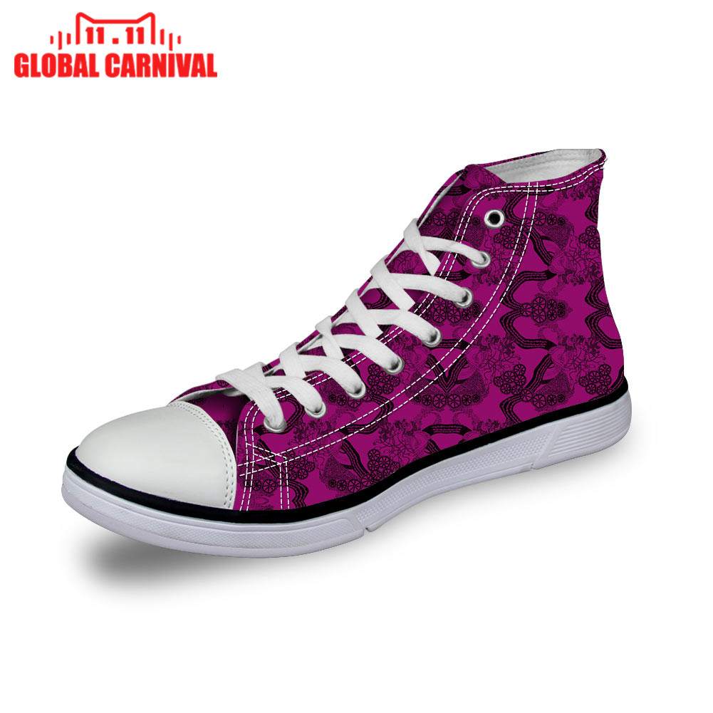 Heres my heart navy white gold2 HOSPITAL I Want to be a Nurse High Top Canvas Shoes Halloween Christmas gift