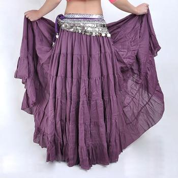 SYB 2016 NEW Fashion Bohemia Long Skirt Swing Skirt Belly Dance Ballroom Costumes Full Circle Women Dress Dance Skirts(purple)