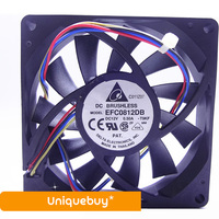 PWM Temperature Control For Delta EFC0812DB 0 50A 12V Automatic Speed Regulation Cooling Fan