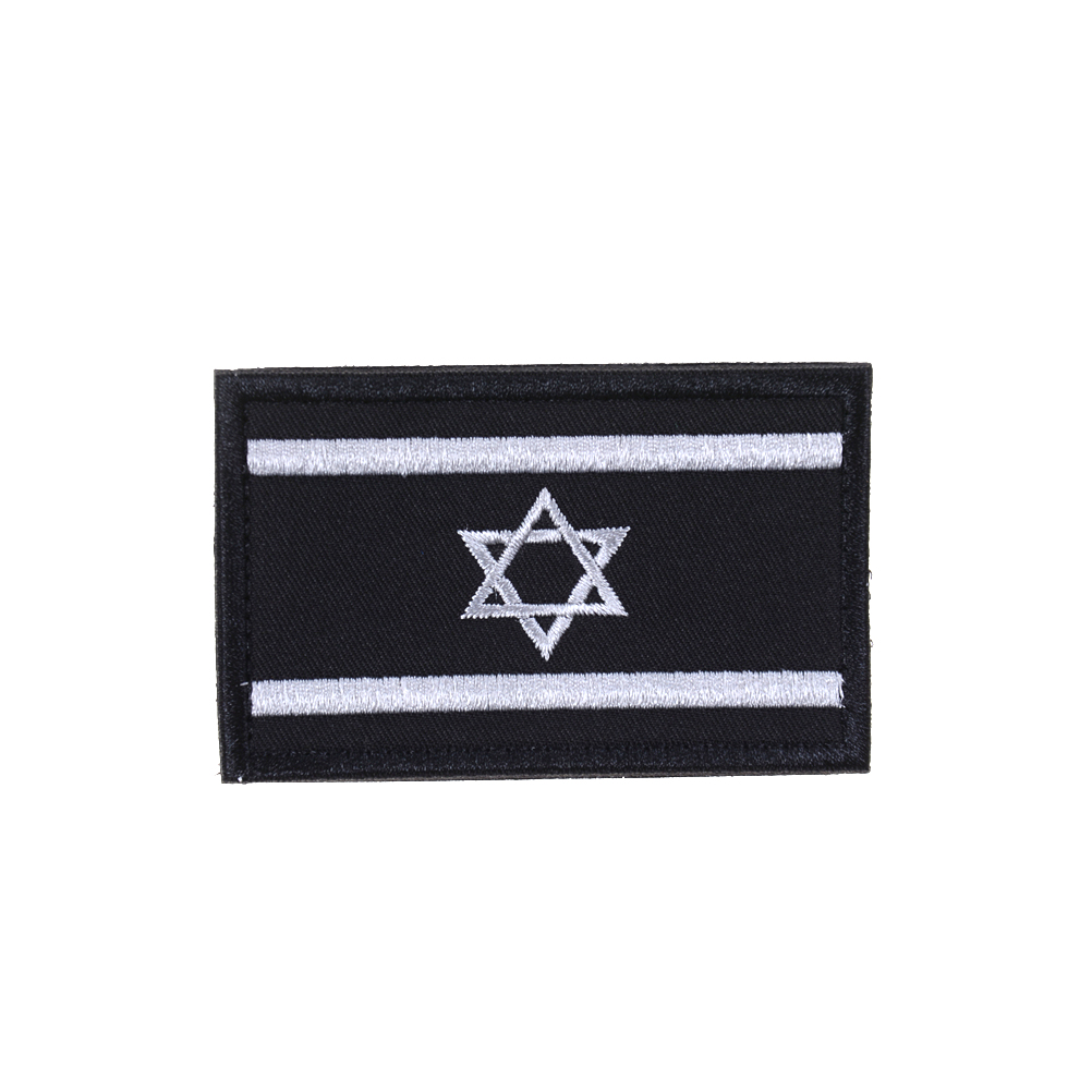 Arts,crafts & Sewing Israel Flag Punisher Patch Tactical 3d Patches Combat Badge Israel National Flags Armband Badges Patches For Backpack Jacket Patches