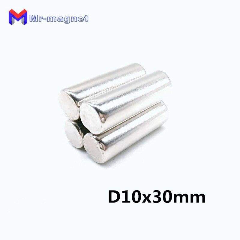 100pcs super strong D10x30mm D10 30mm 10 30mm 10 30 D10 30 D10x30 permanant neo neodymium