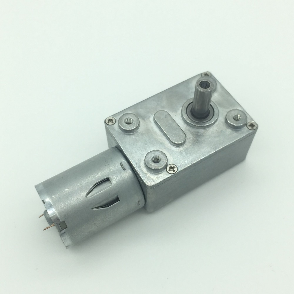 12v 10rpm Reversible Gear Box Worm Motor High Torque