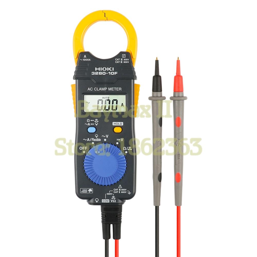 Hioki 3280 10F 1000A AC Digital Clamp Meter with Broad Operating Temperature Range of 25C to