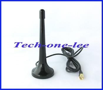цена на 1pc SMA male connector telescopic Digital Freeview 16dbi ~ 17dbi gains DVB-T TV HDTV Antenna Aerial free shipping