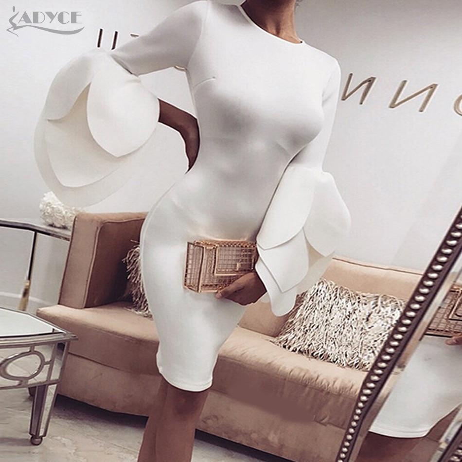 Adyce Femmes De Célébrité De Soirée Robes Verano 2018 Sexy New Summer Piste Casual Noir Moulante Robe Mini Clubwears