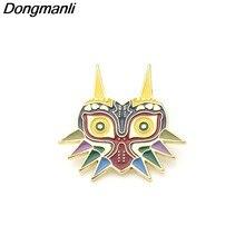P2655 dongmanli coruja metal esmalte colar pino lapela distintivo jóias broche jogo jogador presentes acessórios