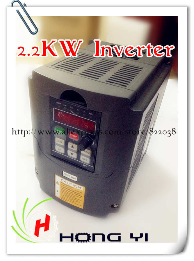 1PCS <font><b>2.2KW</b></font> inverter (<font><b>2.2KW</b></font> Water/<font><b>air</b></font> <font><b>Cooled</b></font> <font><b>Spindle</b></font> motor use) image