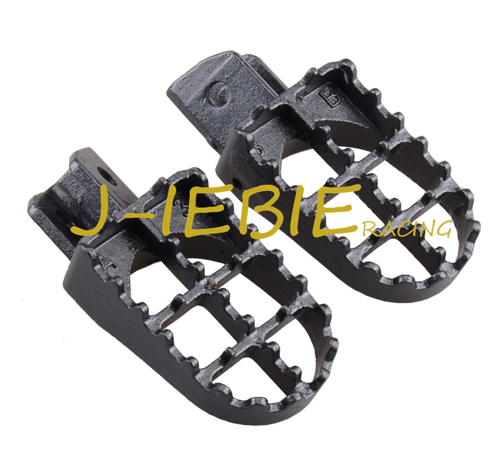 New Wide Footpeg foot pegs for Yamaha PW50 PW80 TW200 1987 2009