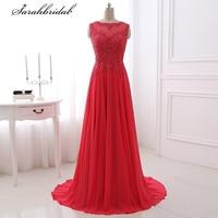 Ever Pretty Charming evening Dresses Long A Line Bateau Sleeveless Zipper Chiffon Prom Dresses Robe De Soiree LSX329