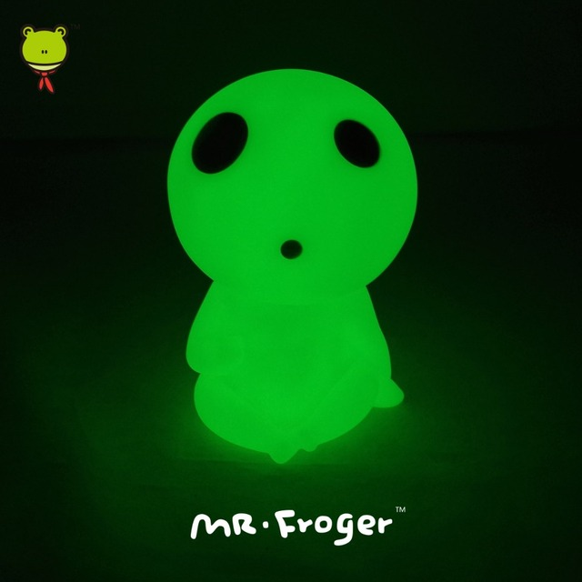 Г-н Froger Studio Ghibli Фигура Фигурку Кукла Мононоке Хаяо Миядзаки Световой Piggy Монеты Банка Кодама Игрушка Милый Свет до