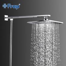 Frap Лидер продаж 220*190 мм ABS душем из нержавеющей стали с руку Топ экономии воды тропический душ F2406