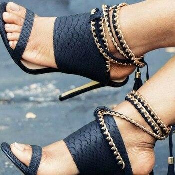 Women's Pumps High Heel Gladiator Sandals