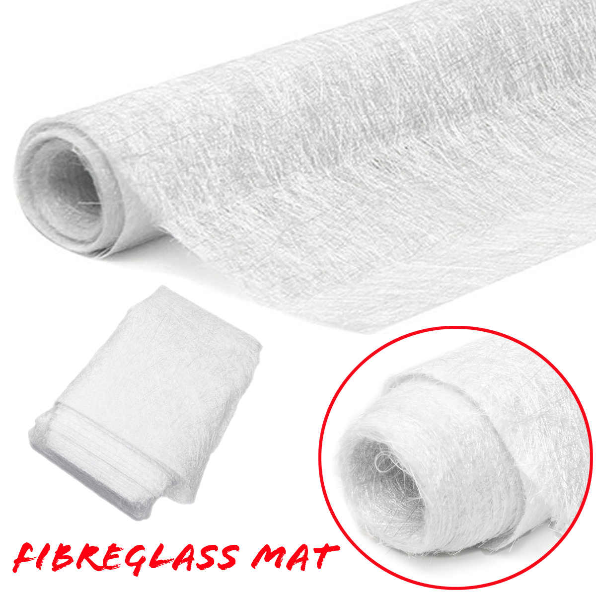 New 1m*10m 300gsm Fibreglass Mat Fiber Glass Cutting Fiber