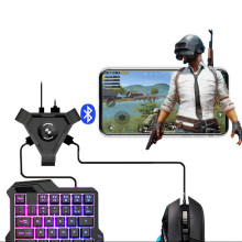 Pubg Mobile Gamepad Controller Gaming Keyboard Mouse Converter untuk Android IOS Ponsel Ke PC Bluetooth 4.1 Adaptor Steker dan Bermain(China)