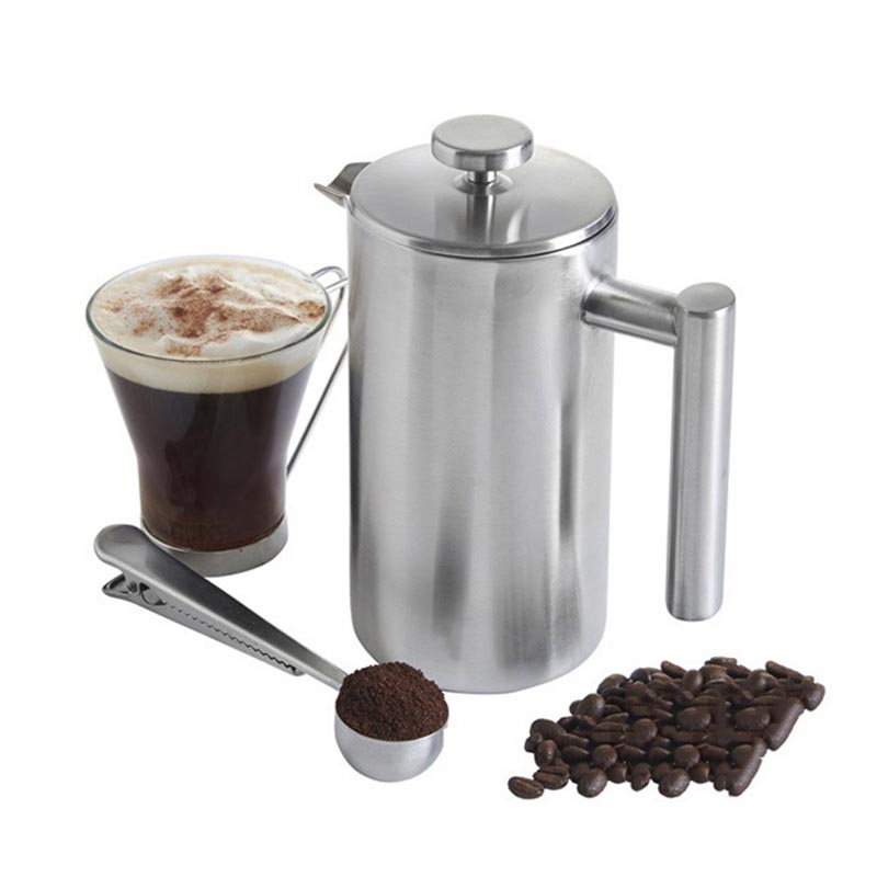 Koffiezetapparaat Franse pers Koffie Tea Pot Brewer met filter - Keuken, eetkamer en bar