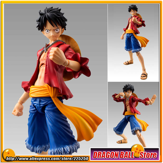 Japanese Anime ONE PIECE Original MegaHouse(MH) Variable Action Heroes /  VAH Action Figure - Monkey D. Luffy japan anime one piece original megahouse variable action heroes action figure rob lucci