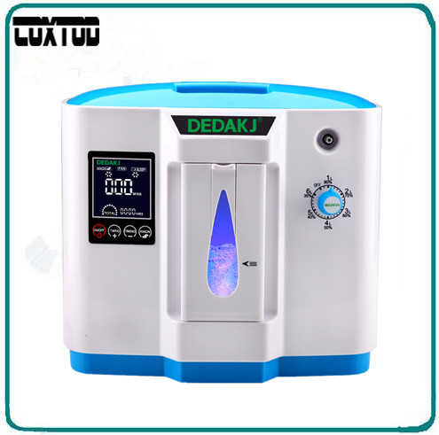 COXTOD hospital use medical portable oxygen concentrator generator home with adjustable 1-6LPM adjustable oxygen purity top grade 90% high purity 6l flow home use medical portable oxygen concentrator generator ddt 1a