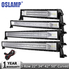 Oslamp 52 783W CREE Chips LED Light Bar Offroad Tri Row Combo Led Work Light 12v