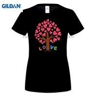 GILDAN XUNHUI 철 T 셔츠 전송 커플 트리 데칼 의류 스티커 발렌