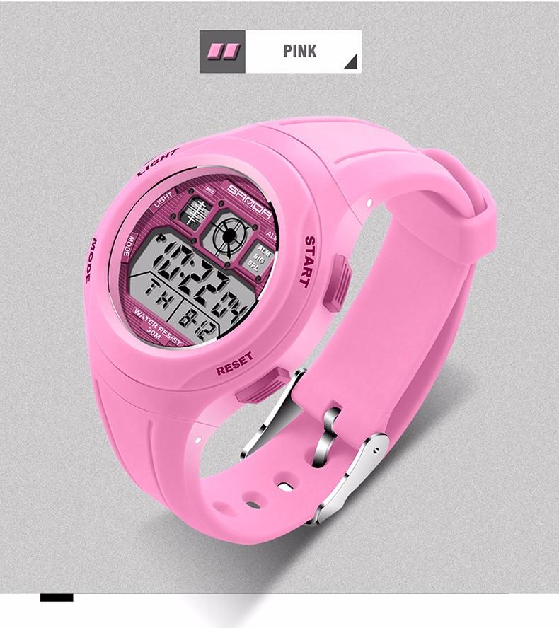 Children Sports Wristwatches Girls 14