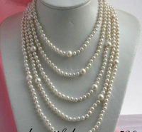 FREE shipping>>>>z2022 long 100 11mm white round freshwater pearl necklace