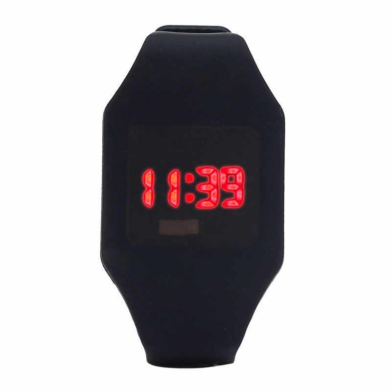 スポーツ学生子供腕時計子供時計子 LED デジタル腕時計ボーイズ電子日付時計ギフト選択リロイ/DD