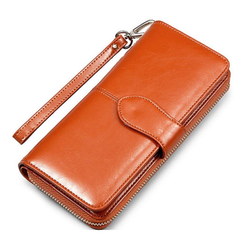 Brands Women Long Wallets Design Dollar Price Leather Purse High Quality Wallets Brands Purse Female Bag Pouch Bolsas Money Bag