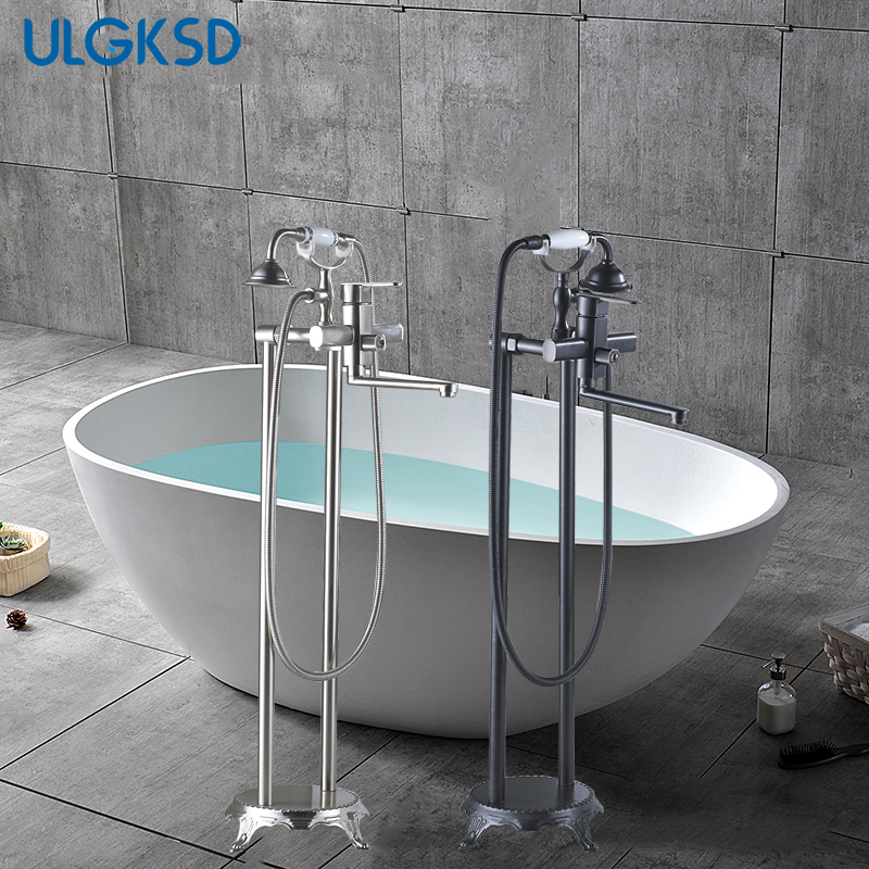 Aliexpress Com Buy Ulgksd Bathtub Faucet Long Spout