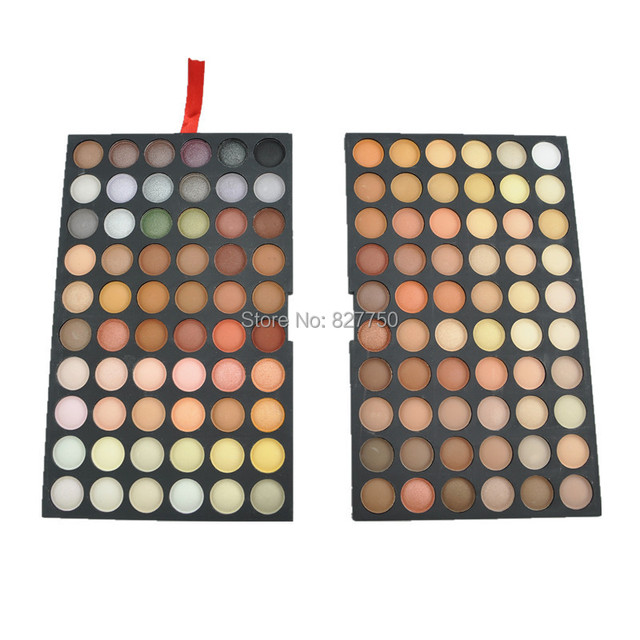 2set New Makeup Warm Pro 120 Full Color Professional Palette Eye Shadows Eyeshadows Makeup Beauty Cosmetics Make up Set