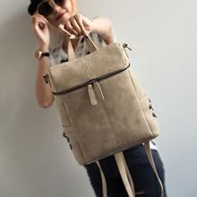 PU Leather Backpacks For Teenage Girls