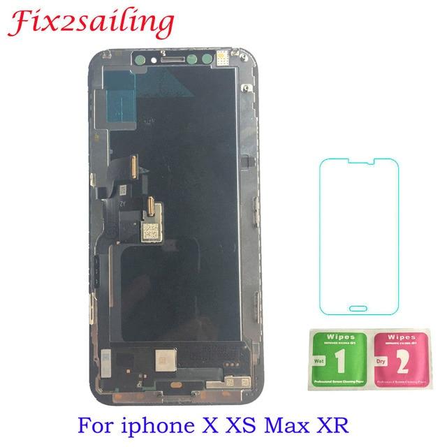 Для iphone X XS Max XR ЖК-дисплей для Tianma AMOLED OEM с дигитайзером Alibaba Express для iphone X ЖК-экран в сборе