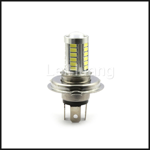 Image 4 - 1x H4 LED 5630 33SMD 8 واط 33 LED لمبة سيارة ضوء 12 فولت 800lm حركة المرور مصابيح القيادة الضباب ضوء أبيض أصفر
