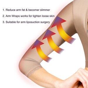 Image 4 - Junlan Frauen Arme Abnehmen Gestaltung Tops für Zurück Fett Reduzieren Haken Body Control Shaper Hohe Elastische Fehlschlag Heber Shapewear