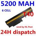 5200 МАЧ 6 клеток Замена Аккумулятор Для Ноутбука IBM ThinkPad R50 R50E R50P R51 R52 T40 T40P T41 T41P T42 T42P T43 T43P ноутбук