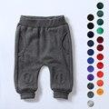 73 - 90 cm altura niños y niñas harem ocasional pantalones bebé terry pies pantimedias cerca de la cintura pantalones de los niños multicolor pantalones