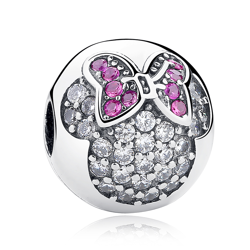 WOSTU 100% Authentic 925 Sterling Silver Cartoon Charm Beads Fit Bracelet Pendants DIY Original Jewelry strollgirl car keys 100% sterling silver charm beads fit pandora charms silver 925 original bracelet pendant diy jewelry making