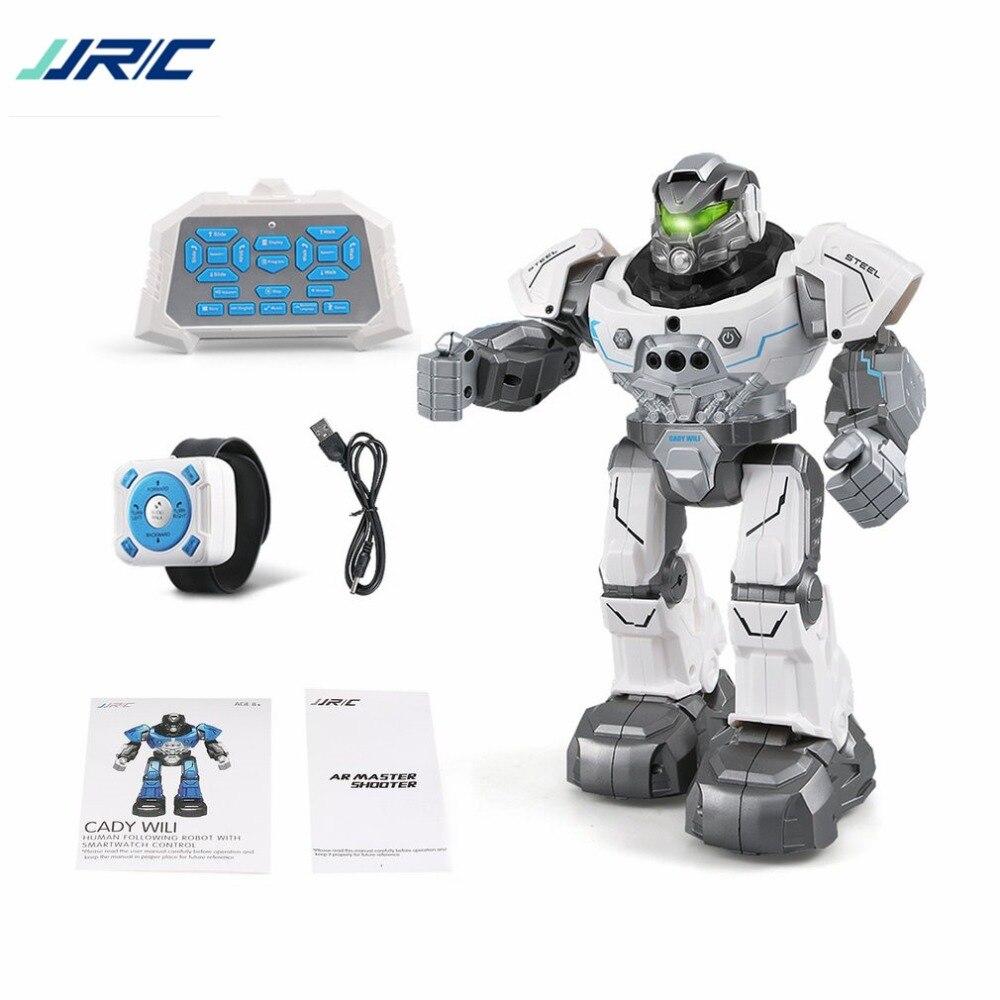JJR/C R5 CADY WILI Intelligent Robot Télécommande Programmable Auto Suivre Geste Capteur Musique De Danse RC Jouet Enfants cadeau ti