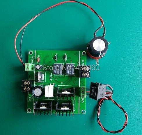 Reversible 12V-32V 24v 20A DC Motor Speed Regulator Controller PWM Control 500W jtron speed reversible control simple stepper motor controller pwm generator controller green