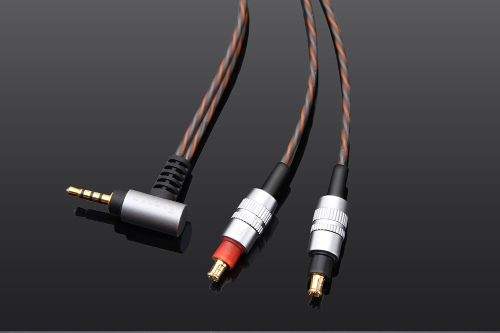 4.4mm Upgrade BALANCED Audio Cable For audio technica ATH-ESW990H ESW990