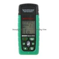 MASTECH MS6900 higrometre البسيطة الرقمية مقياس الرطوبة الخشب/الخشب/الخرسانة المباني جهاز اختبار الرطوبة مع شاشة الكريستال السائل-في مقاييس الرطوبة من أدوات على