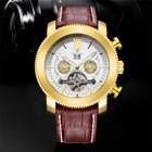 Top Brand Luxury Orkina Men Watches Automatic Mechanical Tourbillon Watches Men Leather Men's Watches Large Dial Mens Watches