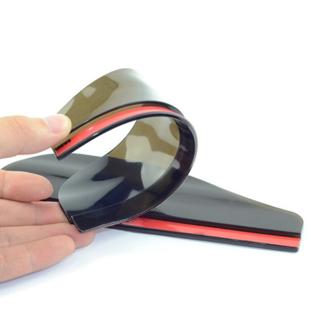 VODOOL 2Pcs PVC Car Rear View Mirror Sticker Rain Eyebrow Auto Side Mirror Rain Board Shield Sunshade Snow Guard Protector Cover 3