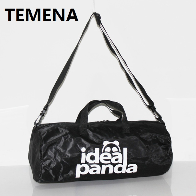 384089617414 TEMENA High Quality Cylindrical Sports Bag For Men Women Mulifucntional  Shoulder Fitness Bags Gym Bag Handbag