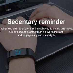 Image 5 - HORUG pulsera inteligente Fitness pulsera para Xiaomi mi Band pulsera inteligente de presión arterial banda inteligente podómetro Monitor de ritmo cardíaco