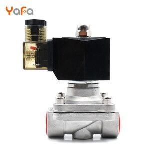Image 4 - AC110V 220V 380V 24V DC12V 24V ,Normally closed, solenoid valve, 304 stainless steel, water valves,Moisture proof  diaphragm