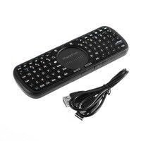 2.4G Mini Wireless Keyboard 4 w 1 LED Światła Podręczny klawiatura touchpad myszy dla PC Android Smart TV Box Dla Tablet